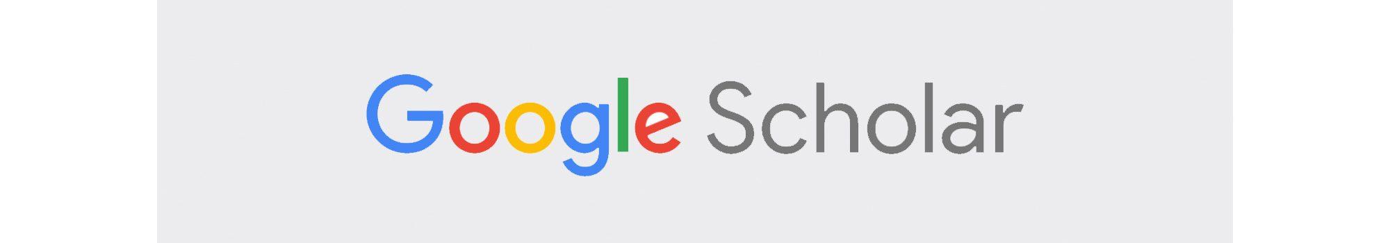 לוגו google scholar